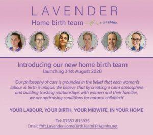 Lavender Homebirth Team at Frimley Trust